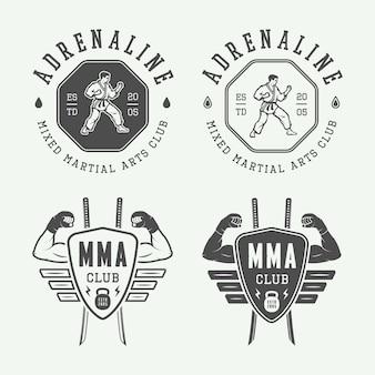 Logo di karate, emblema