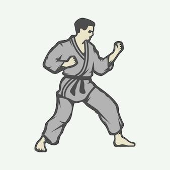 Logo di karate