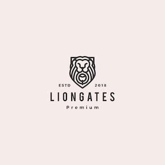 Logo di lion gate liongates
