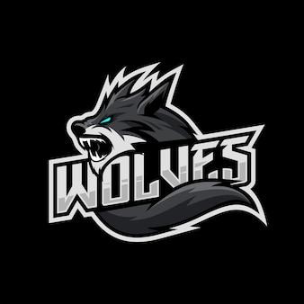 Logo di lupi esport