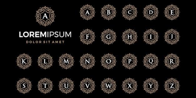 Logo di lusso emblema o ornamento