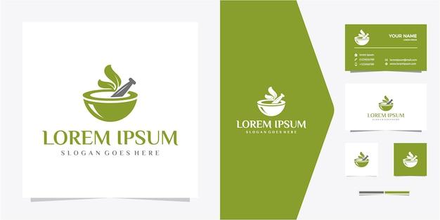 Logo di medicina botanica