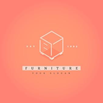 Logo di mobili eleganti