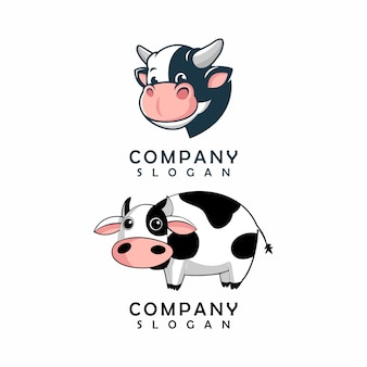 Logo di mucca, modello