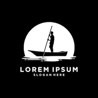 Logo di paesaggio creativo