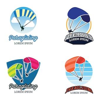 Logo di parapendio