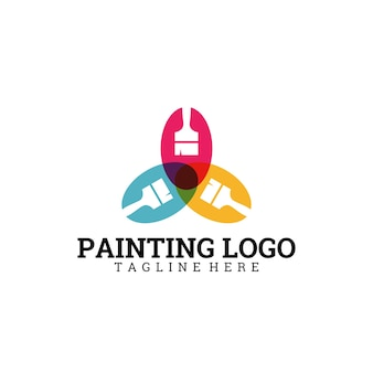 Logo di pittura