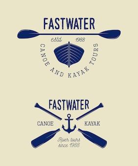 Logo di rafting