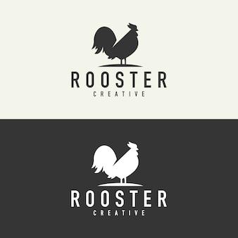 Logo di sagoma gallo
