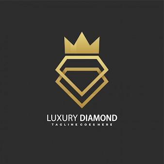 Logo diamond di lusso