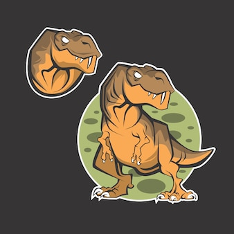 Logo dinosauro