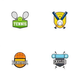 Logo distintivo sportivo