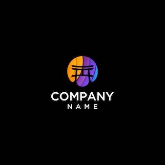 Logo dojo minimalista vettoriale