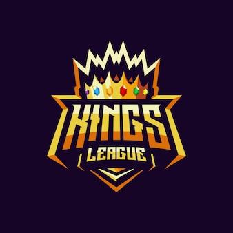 Logo e-sport di kings