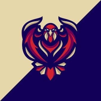Logo eagle fly