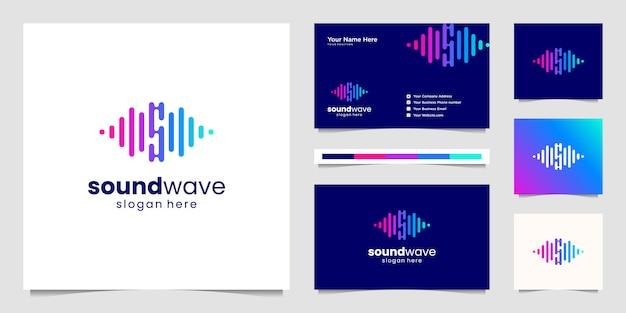 Logo equalizzatore musicale.
