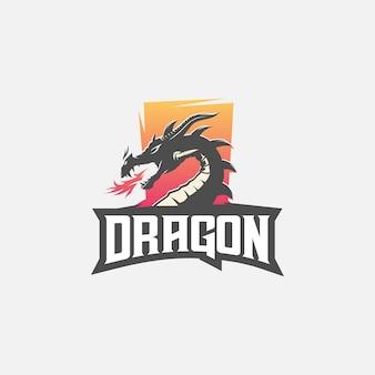Logo esport del drago