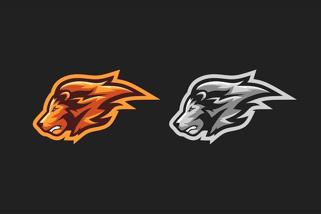 Logo esport leone
