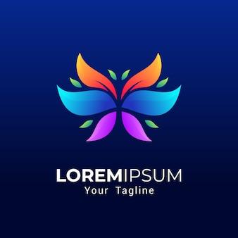 Logo farfalla colorfull