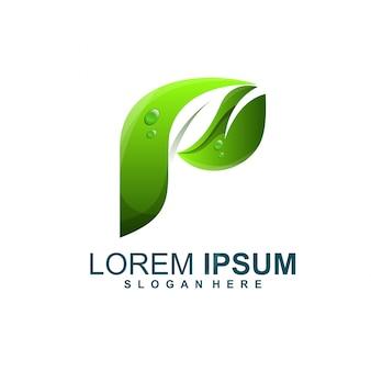 Logo foglia p