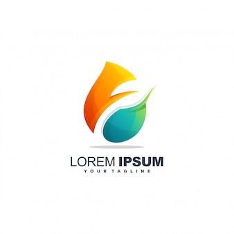 Logo foglia