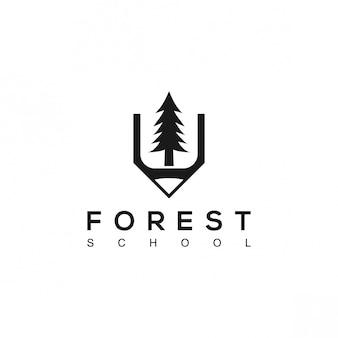 Logo forest school