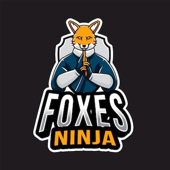 Logo foxes ninja esport