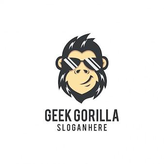 Logo geek gorilla
