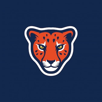 Logo ghepardo fantastica ispirazione
