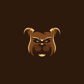 Logo grizzly bear