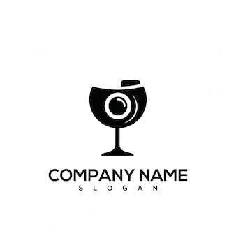 Logo in vetro per fotografia