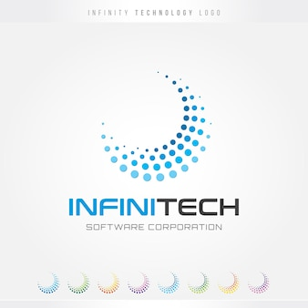 Logo infinite technology