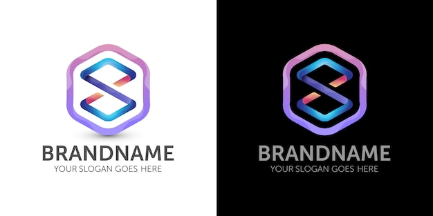 Logo infinito colorato