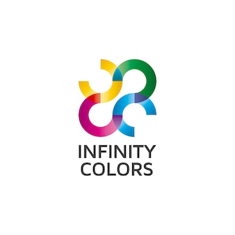 Logo infinity colors