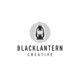 Logo lanterna nera