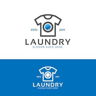 Logo lavaggio bucato