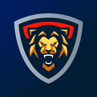 Logo lion esport