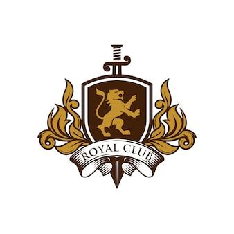 Logo lion heraldry