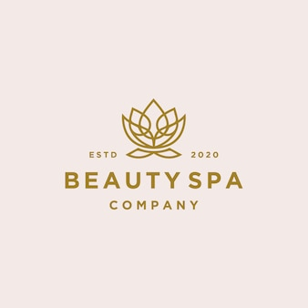 Logo lotus beauty spa