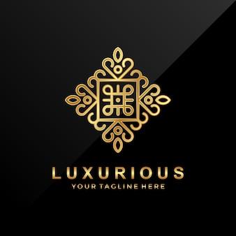 Logo lussuoso vintage