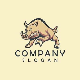 Logo maiale esportato
