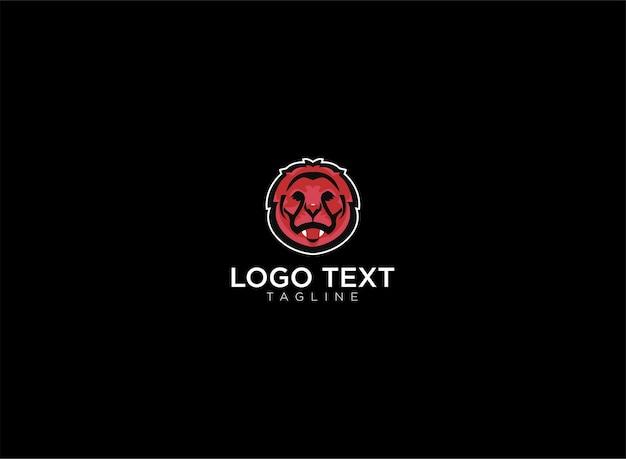 Logo mascotte leone