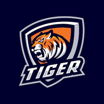 Logo mascotte tigre