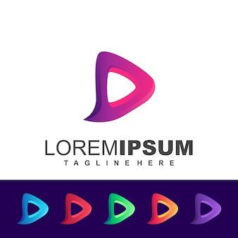 Logo media viola