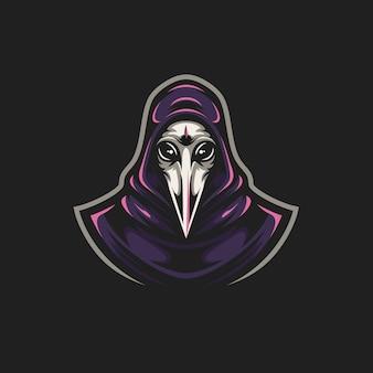Logo medico della peste