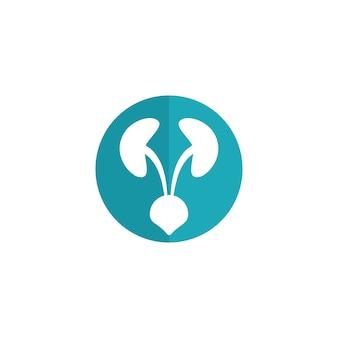 Logo medico moderno di urologia
