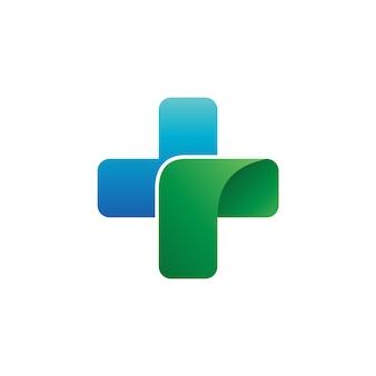 Logo medico vettoriale