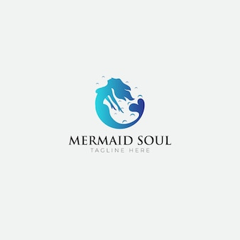 Logo mermaid soul