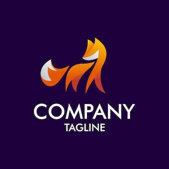 Logo moderno fox