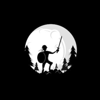 Logo moon fighter